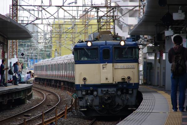 2010年10月1日 ケヨ31配給 武蔵野線 総武線  配給 武蔵浦和