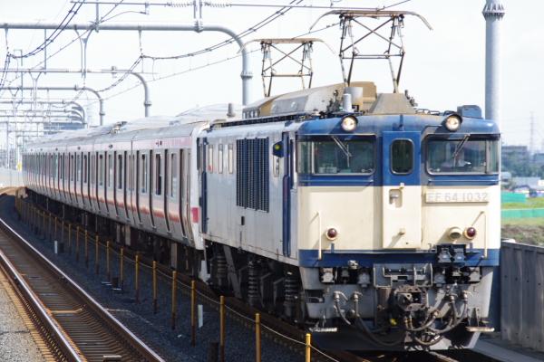 2010年10月1日 ケヨ31配給 武蔵野線 総武線  配給 レイクタウン