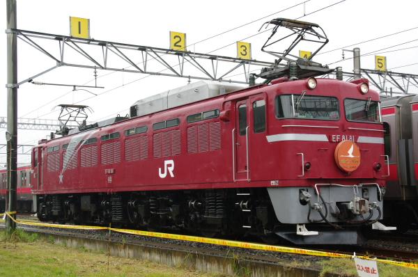 2010年10月2日~9日 京葉線 京葉車両センター公開  EF81