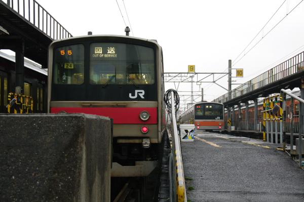 2010年10月2日~9日 京葉線 京葉車両センター公開  205系