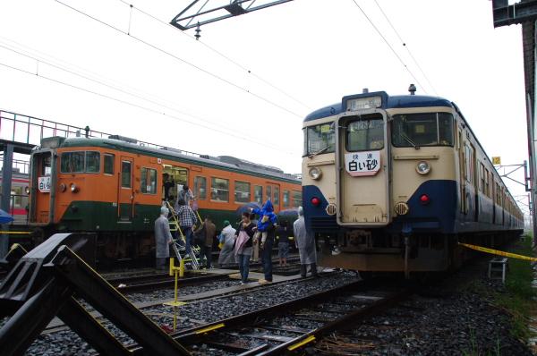 2010年10月2日~9日 京葉線 京葉車両センター公開  113系