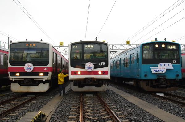 2010年10月2日~9日 京葉線 京葉車両センター公開  ライト消灯
