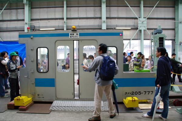 2010年10月2日~9日 京葉線 京葉車両センター公開  ドア