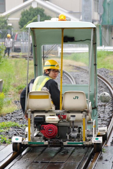 2010年10月2日~9日 京葉線 京葉車両センター公開  保線車
