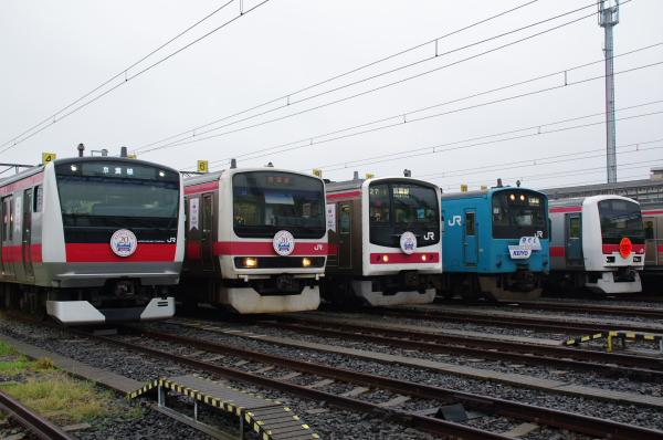 2010年10月2日~9日 京葉線 京葉車両センター公開  並び