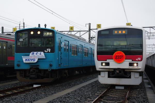 2010年10月2日~9日 京葉線 京葉車両センター公開  注目