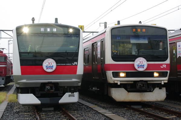 2010年10月2日~9日 京葉線 京葉車両センター公開  新系列
