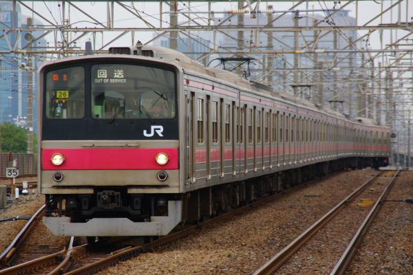 2010年10月19日 成勝通勤快速 京葉線 ケヨ26
