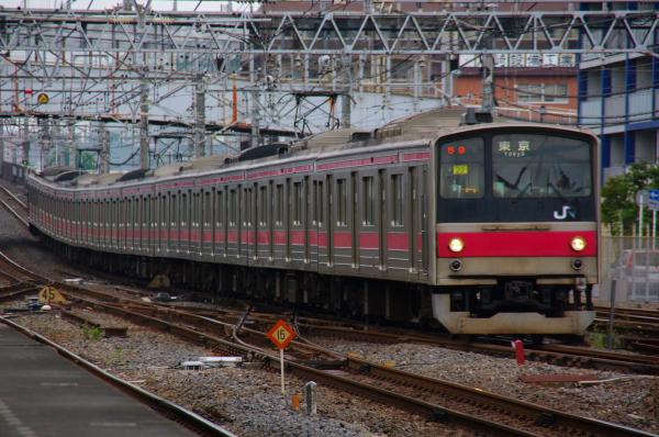 2010年10月19日 成勝通勤快速 京葉線 ケヨ22 蘇我