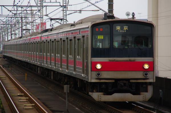 2010年10月19日 成勝通勤快速 京葉線 ケヨ22