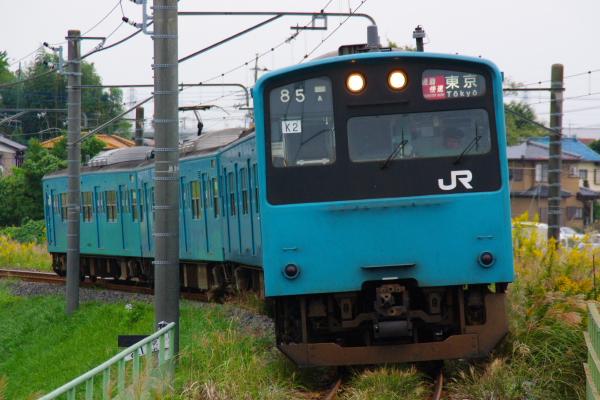 2010年10月19日 成勝通勤快速 京葉線 K2 大網