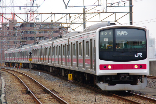2010年10月19日 成勝通勤快速 京葉線 ケヨ81