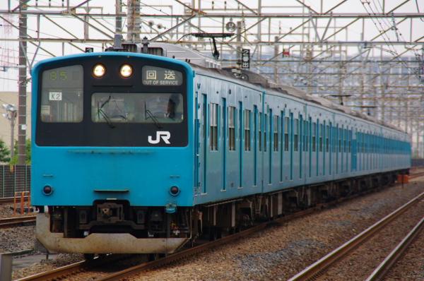 2010年10月19日 成勝通勤快速 京葉線 ケヨ52+K2
