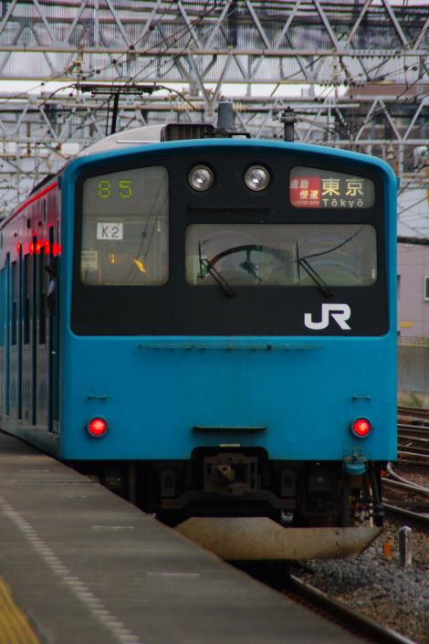 2010年10月19日 成勝通勤快速 京葉線 ケヨ52+K2 後打ち