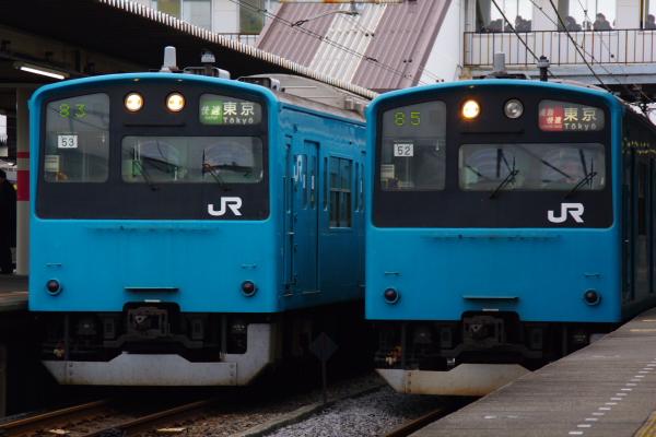 2010年10月19日 成勝通勤快速 京葉線 並び1