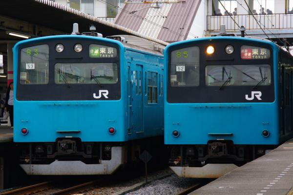 2010年10月19日 成勝通勤快速 京葉線 並び