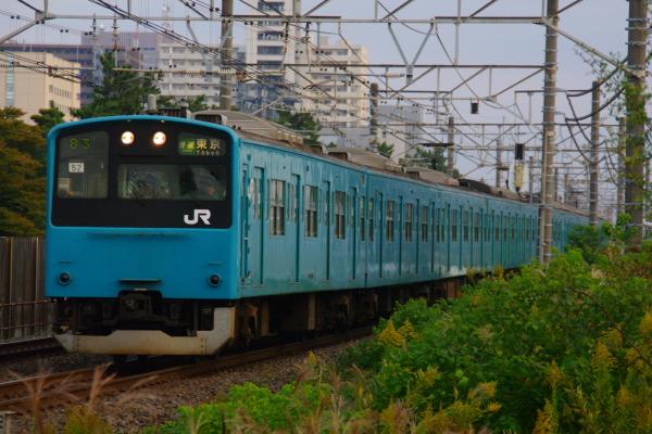 2010年11月6日 京葉線 ケヨ52+K2 稲毛海岸-千葉みなと