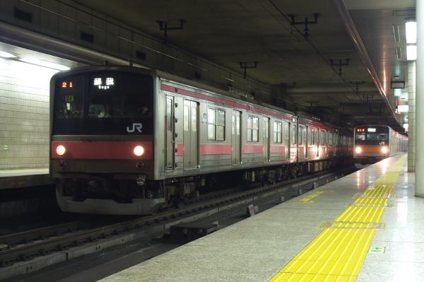 2010年11月7・12日 京葉線 動画  ケヨ26 東京