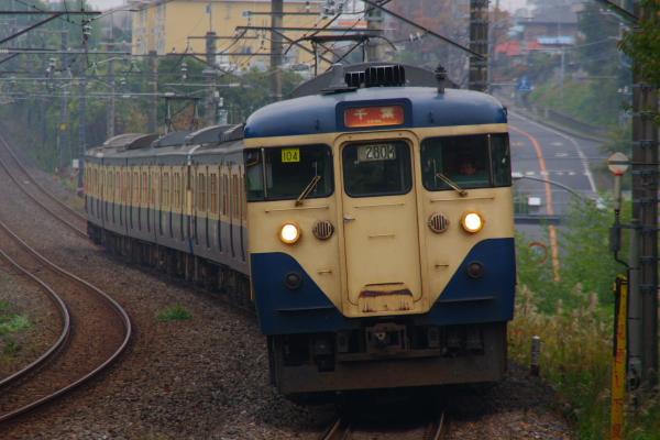 2010年11月14日 外房線 280M マリ104+マリ111 鎌取-誉田