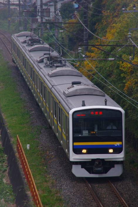 2010年11月14日 外房線 マリC607 蘇我-鎌取