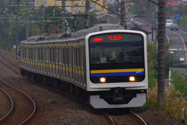 2010年11月14日 外房線 282M マリC407 鎌取-誉田