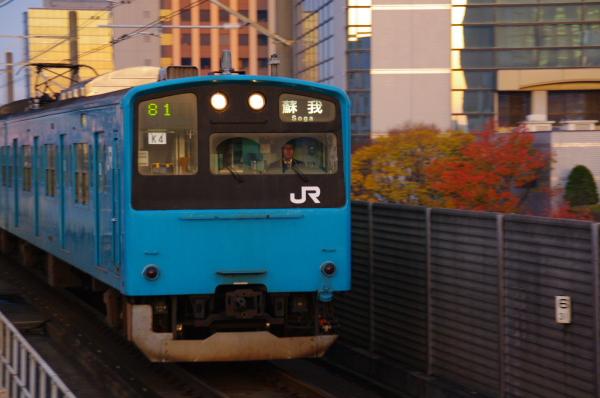 2010年11月24~27日 京葉線 紅葉  ケヨ54+K4