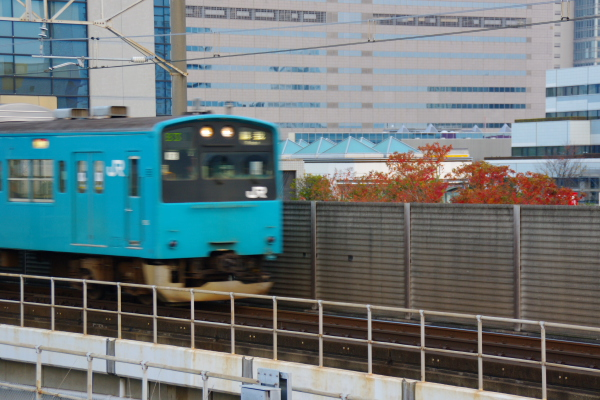 2010年11月24~27日 京葉線 紅葉  ケヨ52