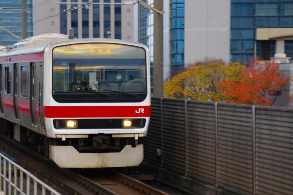 2010年11月24~27日 京葉線 紅葉  ケヨ32