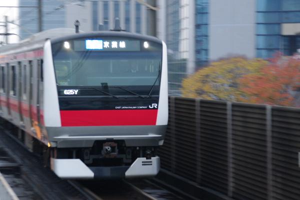 2010年11月24~27日 京葉線 紅葉  ケヨ506