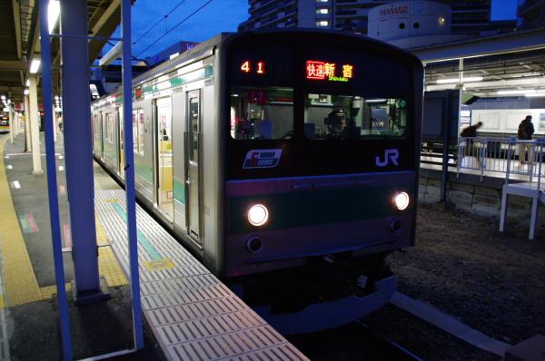 2010年12月12日 東北方面 埼京線
