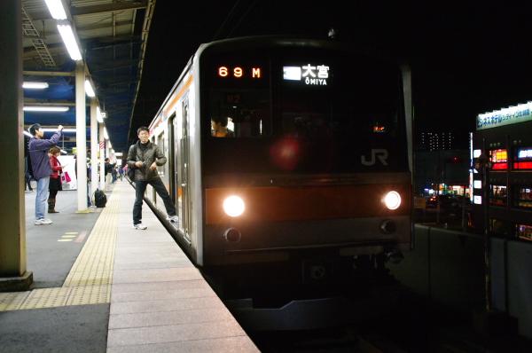 2010年12月12日 東北方面 武蔵の号