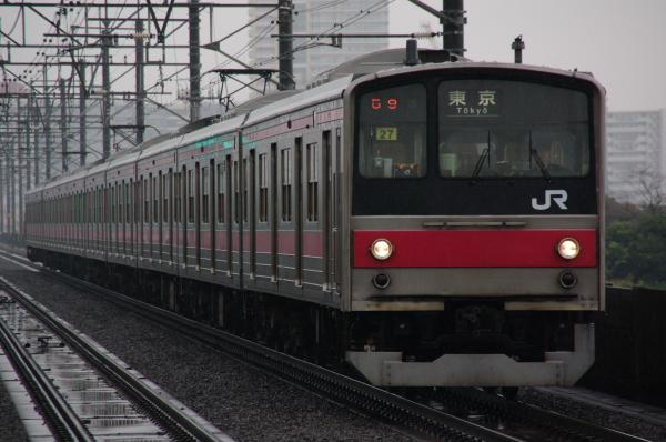 2010年12月14日 京葉線  ケヨ27 検見川浜