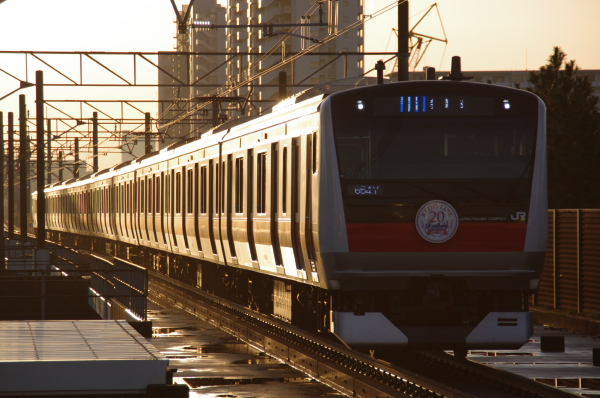 2010年12月15日 京葉線 ケヨ501