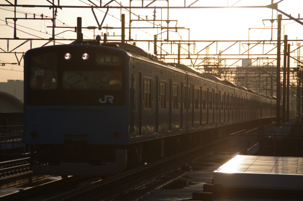 2010年12月15日 京葉線 ケヨ54+K4