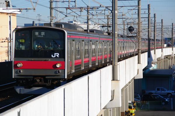 2010年12月16,17日 京葉線  ケヨ24 市川塩浜