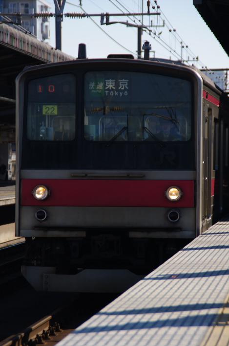2010年12月16,17日 京葉線  ケヨ22 列番