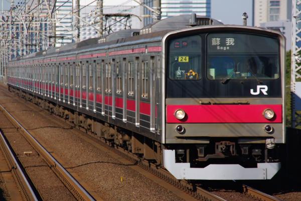 2010年12月16,17日 京葉線  ケヨ24 検見川浜