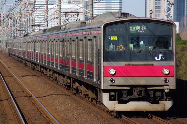 2010年12月16,17日 京葉線  ケヨ22 検見川浜