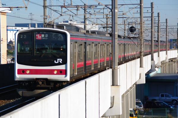 2010年12月16,17日 京葉線  ケヨ9 市川塩浜
