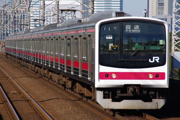 2010年12月16,17日 京葉線  ケヨ81 検見川浜