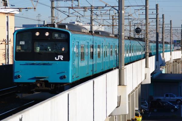 2010年12月16,17日 京葉線  ケヨ52+K2 市川塩浜