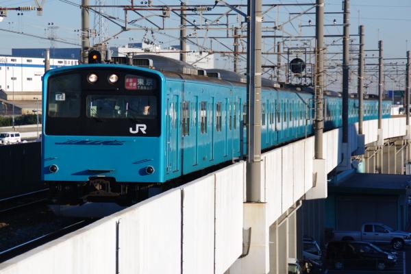 2010年12月16,17日 京葉線  ケヨ54+K4