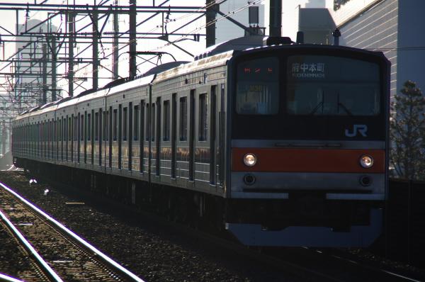 2010年12月16,17日 京葉線  ケヨM36 新習志野