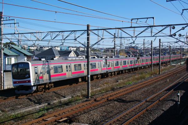 2010年12月16,17日 京葉線  ケヨ81 幕張ー新検見川