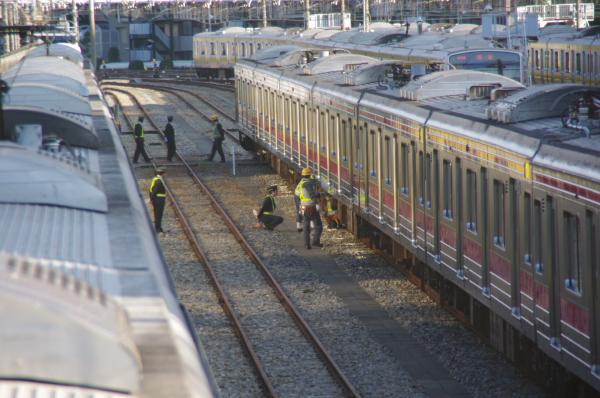 2010年12月16,17日 京葉線  ラシ区1