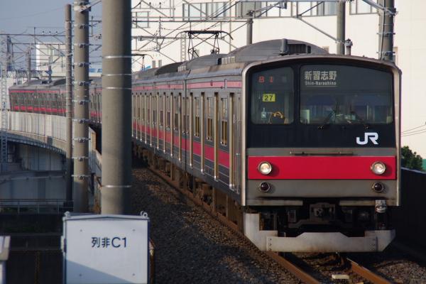 2010年12月19,20,21日 京葉線  ケヨ27 二俣新町