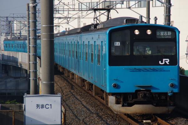 2010年12月19,20,21日 京葉線  ケヨ54+K4 二俣新町