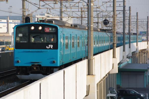 2010年12月19,20,21日 京葉線  ケヨ54+K4 市川塩浜
