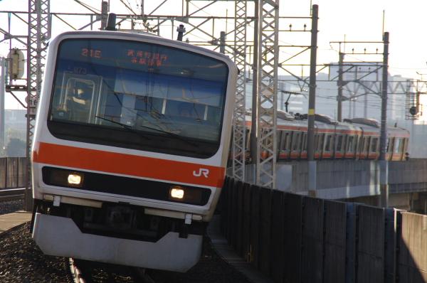 2010年12月26、27日 京葉線  M73