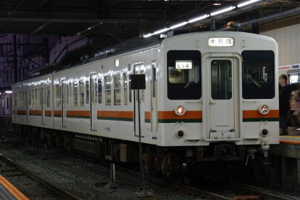 2010年1月3,4、5日 名古屋観光 119系 E14